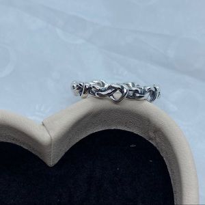 Knotted Hearts Ring Size 50 EU / 5 US